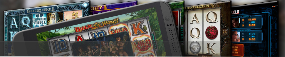 speelautomaten games voor iPhone, Android  en iPods